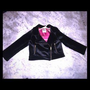 Genuine Kids from OshGosh black velvet jacket